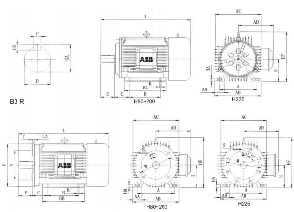 Động cơ ABB : MQAEJ